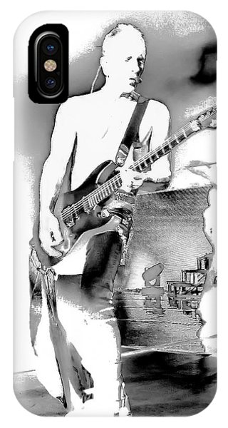 Phil Collen Of Def Leppard IPhone Case