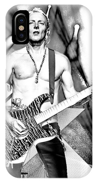 Def Leppard iPhone Case - Phil Collen With Def Leppard by David Patterson