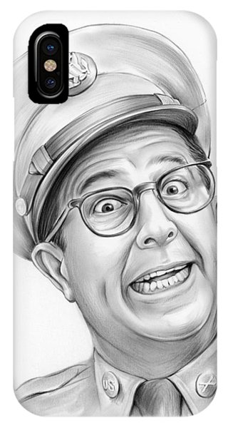 1950s iPhone Case - Phil Silvers by Greg Joens