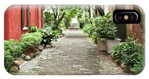 Philadelphia Alley Charleston Pathway IPhone Case