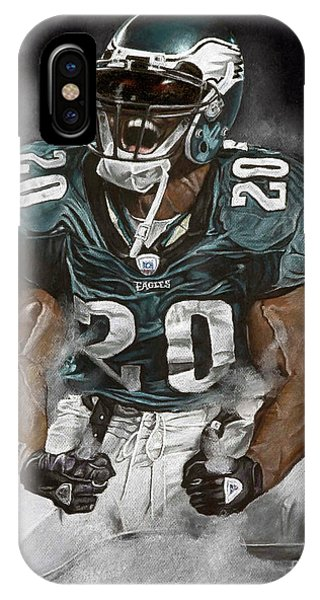 Philadelphia Eagles Brian Dawkins The Legend IPhone Case