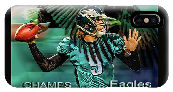 Philadelphia Eagles - Super Bowl Champs IPhone Case