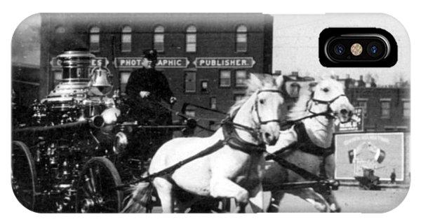 Philadelphia Fire Department Engine - C 1905 IPhone Case