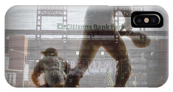 Philadelphia Phillies Stadium iPhone Case - Philadelphia Phillies - Citizens Bank Park by Bill Cannon