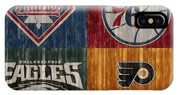 iPhone Case - Philadelphia Sports Teams by Dan Sproul
