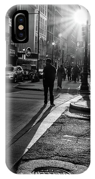 Philadelphia Street Photography - 0943 IPhone Case