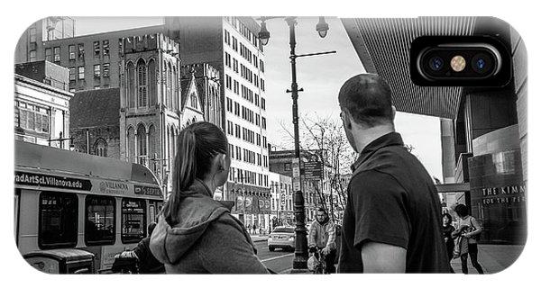 Philadelphia Street Photography - Dsc00248 IPhone Case