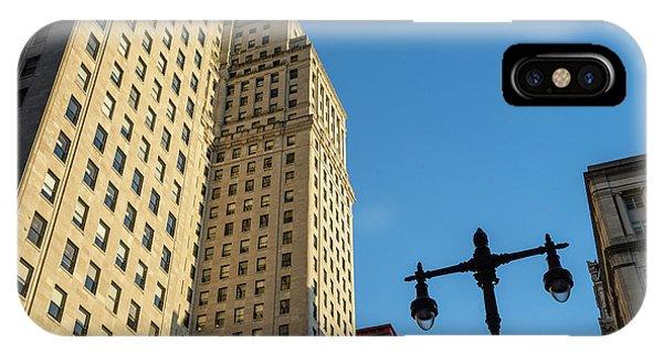 Philadelphia Urban Landscape - 0948 IPhone Case