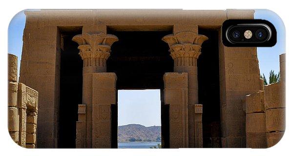 Philae Temple IPhone Case