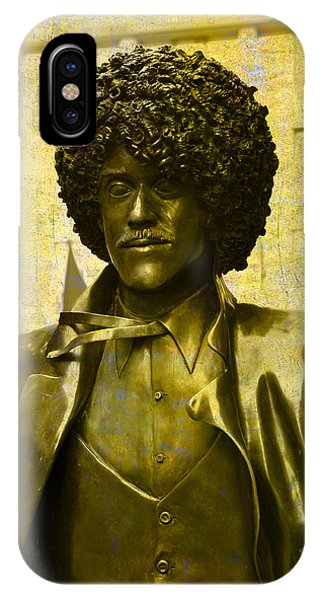 Philip Lynott Statue IPhone Case