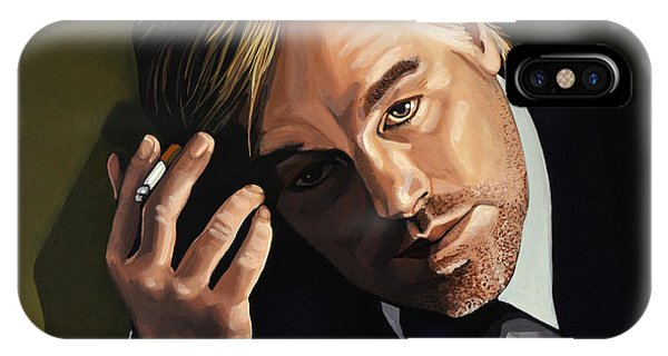 Scent iPhone Case - Philip Seymour Hoffman by Paul Meijering