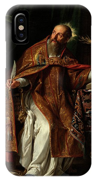 iPhone Case - Philippe De Champaigne by Saint Augustine