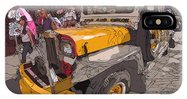 Philippines 1261 Jeepney IPhone Case