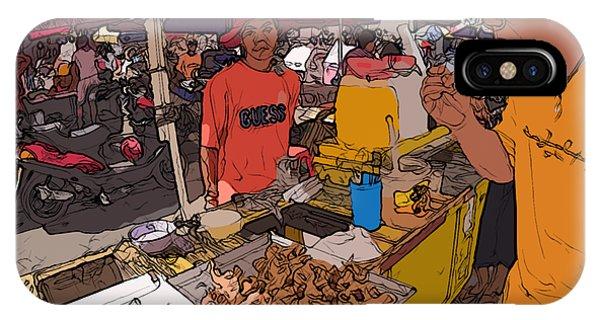 Philippines 1299 Street Food IPhone Case