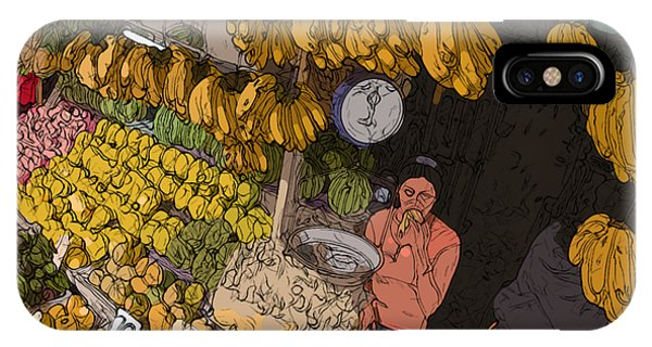 Philippines 3575 Saging Sales Lady IPhone Case
