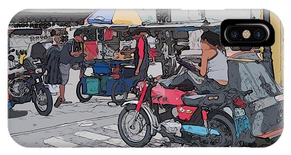 Philippines 673 Street Food IPhone Case