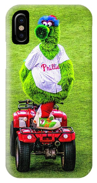 Phillie Phanatic Scooter IPhone Case