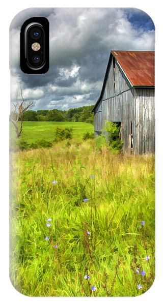 Phillip's Barn IPhone Case