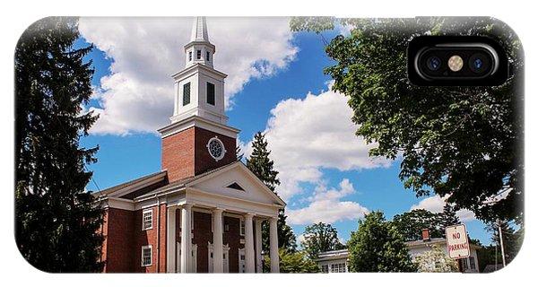 Phillips Stevens Chapel, Williston Northampton School, Easthampton, Ma IPhone Case