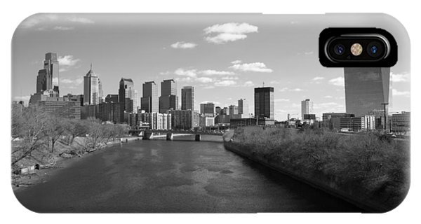 Philly B/w IPhone Case