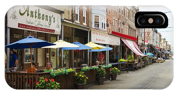Philly's Italian Market IPhone Case