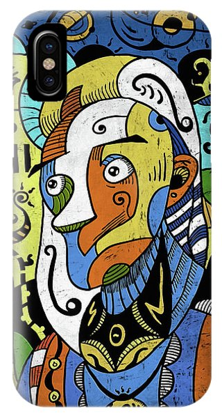 IPhone Case featuring the digital art Philosopher by Sotuland Art