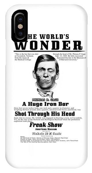 Phineas Gage World's Wonder IPhone Case