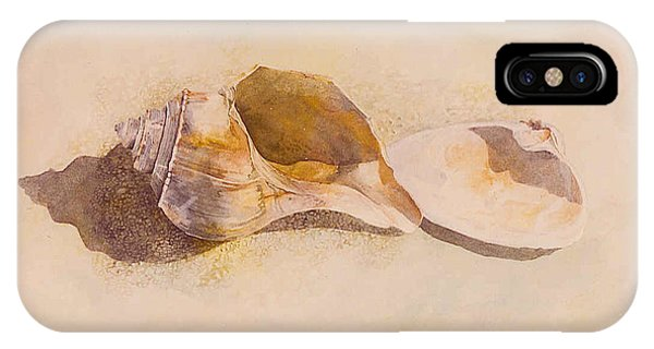 Phinney's Point Shells IPhone Case