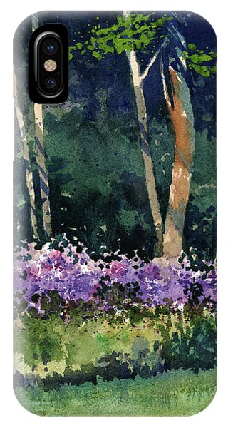 Phlox Meadow, Harrington State Park IPhone Case