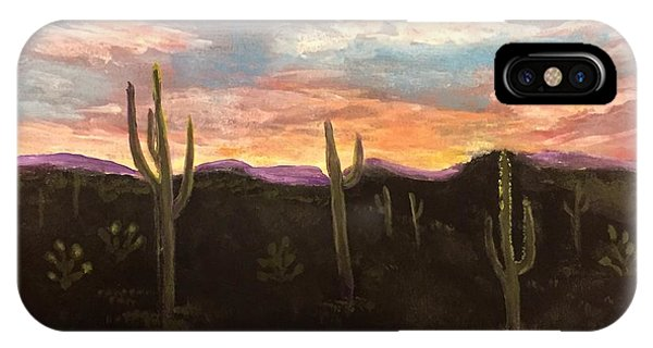 Phoenix Az Sunset IPhone Case