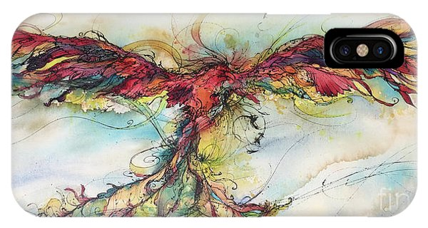Phoenix Rainbow IPhone Case