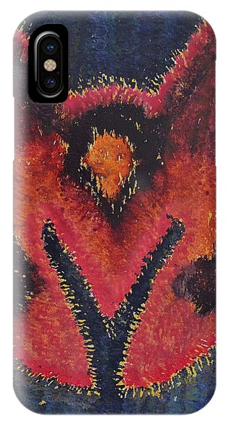 Phoenix Rising Original Painting IPhone Case