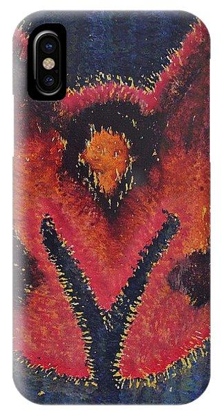 Phoenix Rising Original Painting IPhone Case