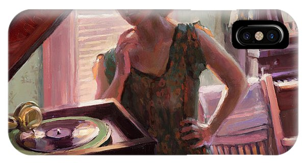 Figurative iPhone Case - Phonograph Days by Steve Henderson