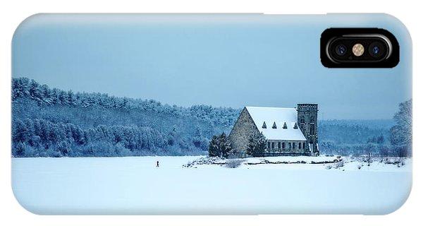 Photographer On Thin Ice IPhone Case