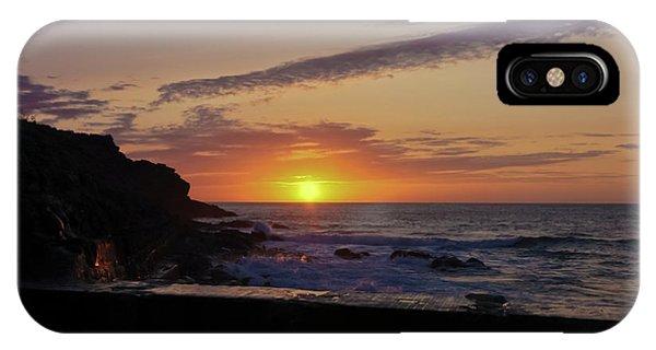 Photographer's Sunset IPhone Case