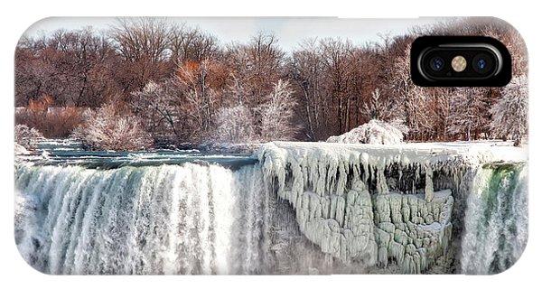Niagara Winter IPhone Case