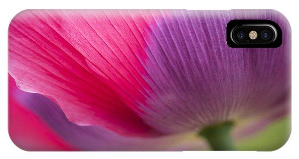 Poppy Close Up IPhone Case