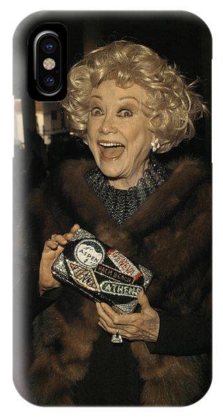 Phyllis Diller IPhone Case