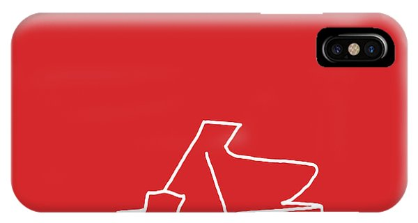 Piano In Red IPhone Case