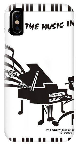 Piano Man IPhone Case