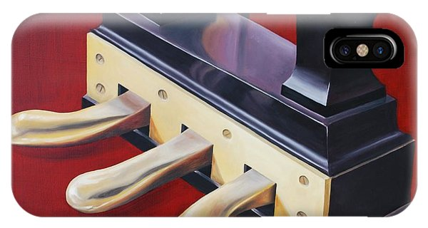 Piano Pedals IPhone Case