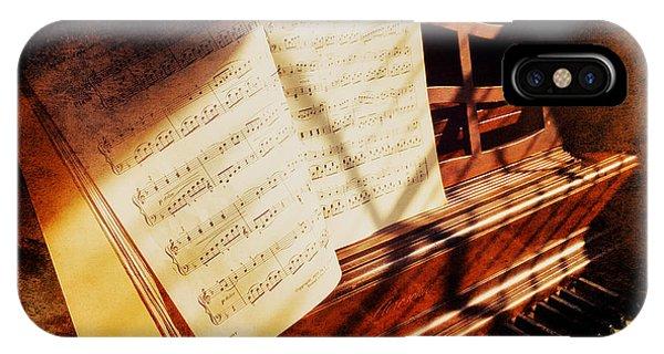 Piano Sheet Music IPhone Case