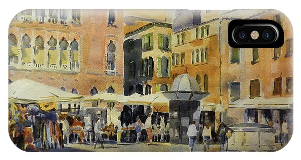 Piazza San Angelo IPhone Case
