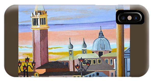Piazza San Marco IPhone Case