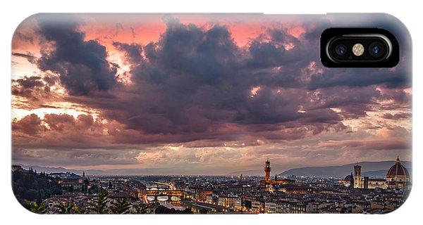 Piazzale Michelangelo IPhone Case