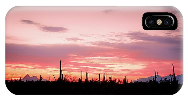 Picacho Sunset IPhone Case
