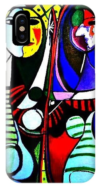 Picasso - El Espejo Original IPhone Case
