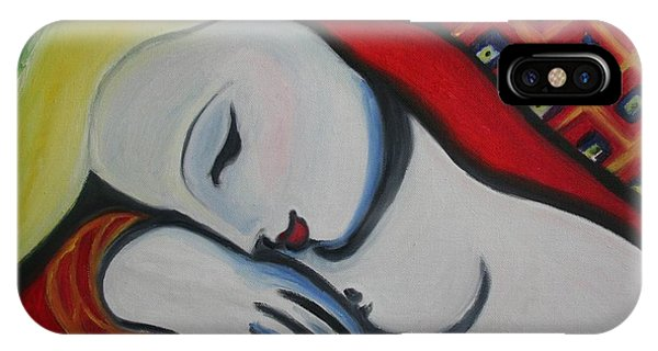 Picasso's Resting Angels IPhone Case