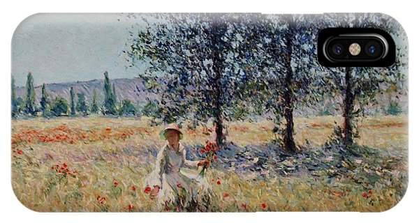 Picking Flowers  IPhone Case